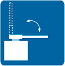 Mecanismo de desarticulación de barra contra impactos